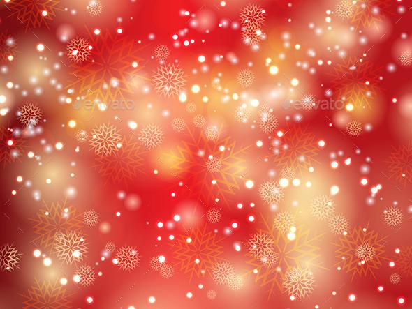 Christmas Snowflakes and Stars - Christmas Seasons/Holidays