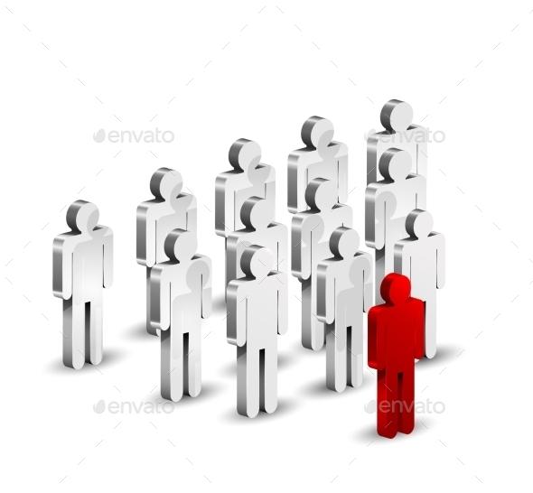 Leadership Concept Background - Miscellaneous Vectors