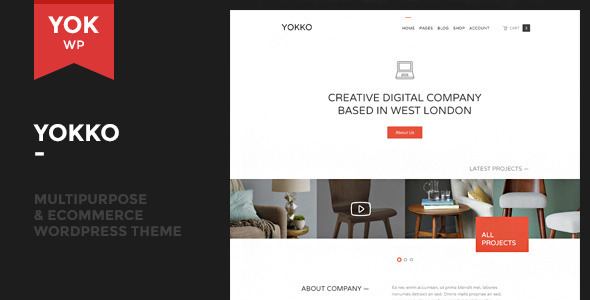 Yokko – Multipurpose and WooCommerce WordPress Theme