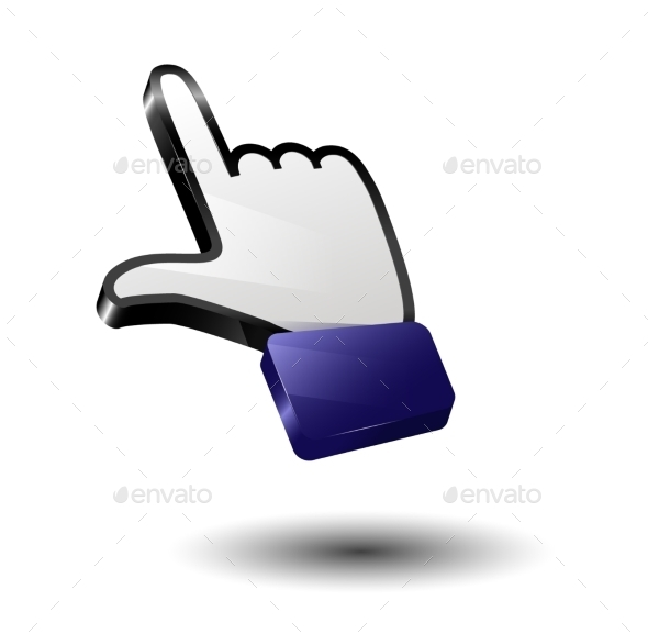 Finger Icon Arrow - Web Technology