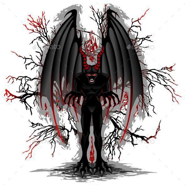 Evil Demon Spirit - Monsters Characters