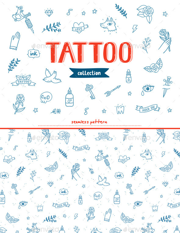 Tattoo Doodles Collection - Miscellaneous Conceptual