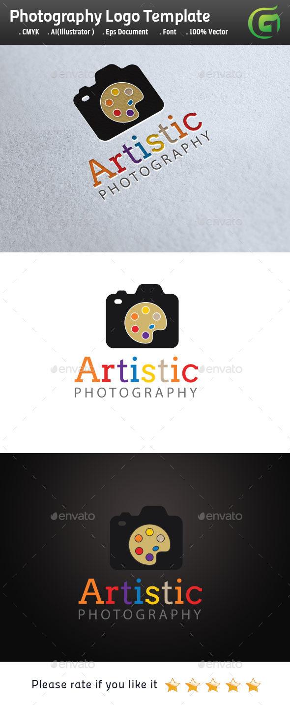 Artistic Photography - Symbols Logo Templates