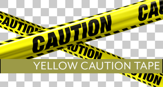 Yellow Caution Tape Collection