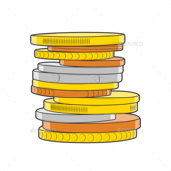 Coins Stack - Business Conceptual