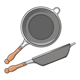 Frying Pans - GraphicRiver Item for Sale