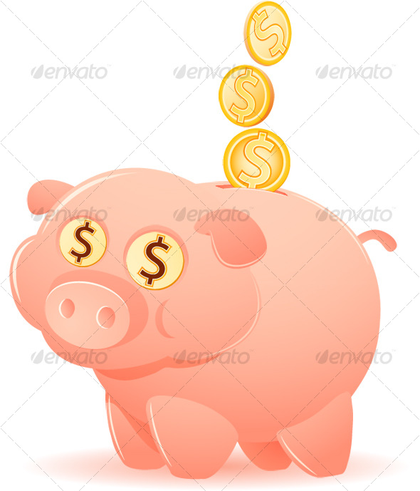 Feeding the Piggy Bank - Concepts Business