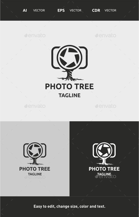 Photo Tree - Nature Logo Templates