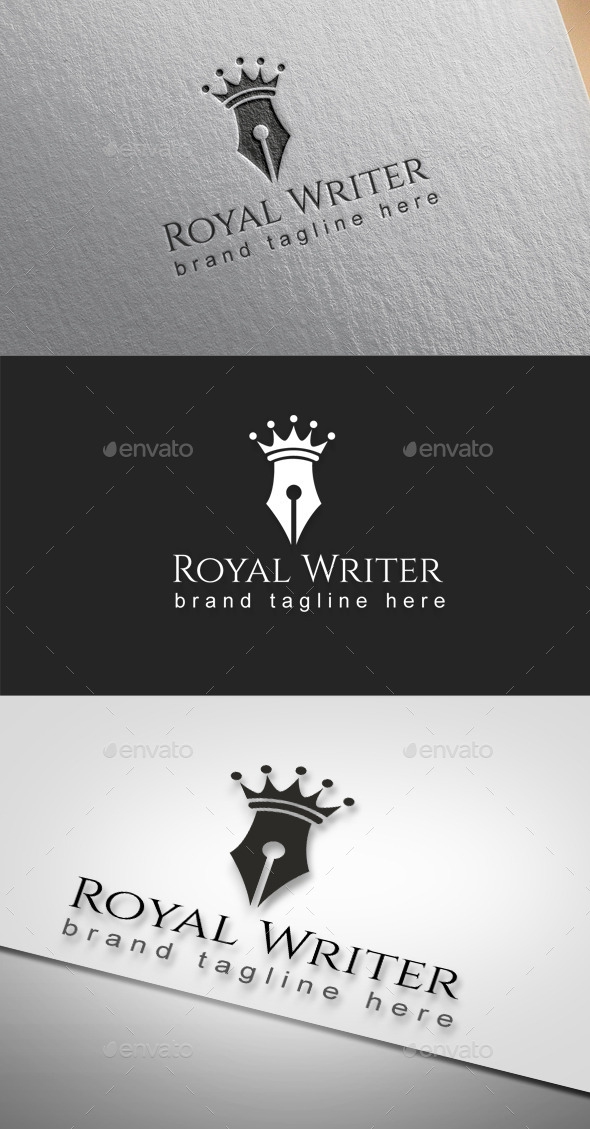 Royal Writer - Objects Logo Templates