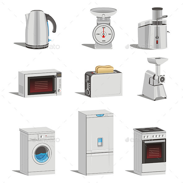 Home Equipment  - Technology Conceptual