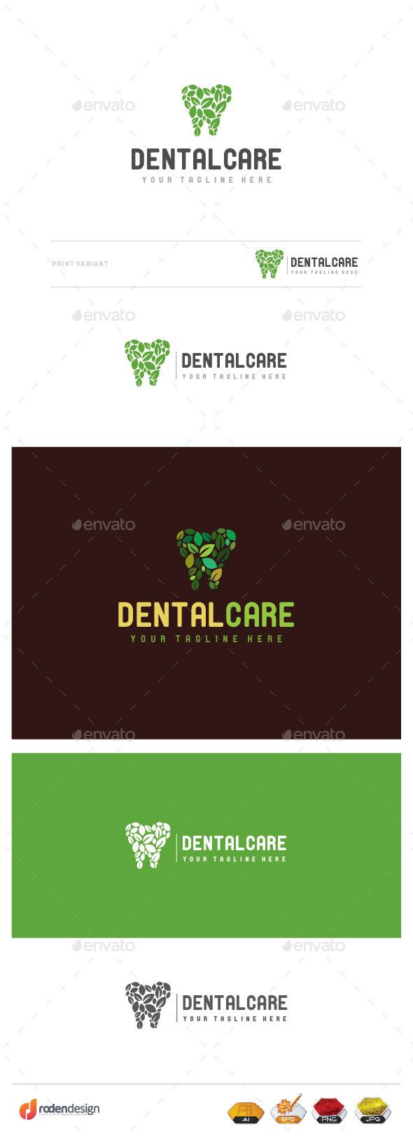 Dental Care Logo - Logo Templates