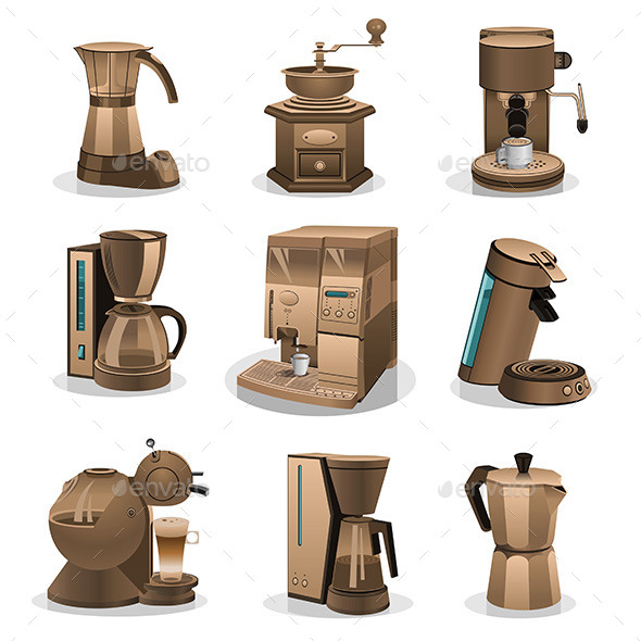 Coffee Grinder - Objects Vectors