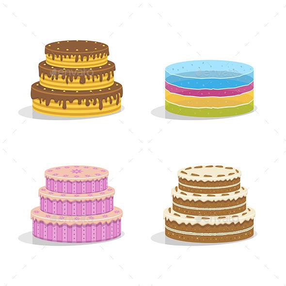 Birthday Cakes - Birthdays Seasons/Holidays
