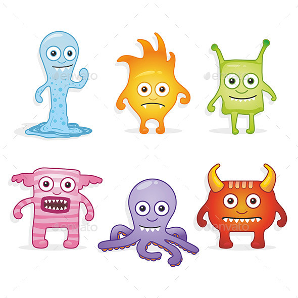 Cartoon Monsters - Monsters Characters
