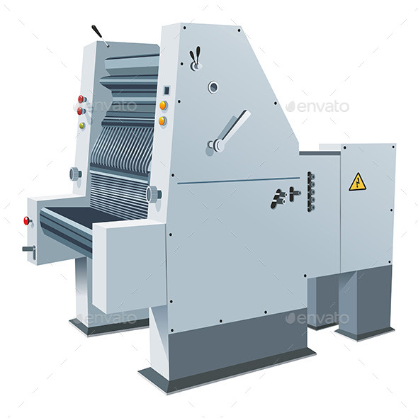 Printing-Press - Technology Conceptual