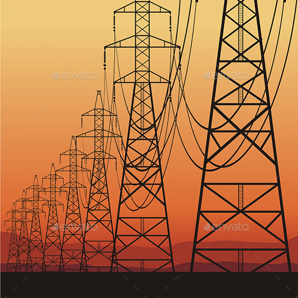 Electrical Power Lines - Industries Business