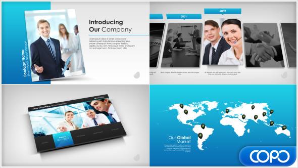 simple company presentationariefputra | videohive, Presentation templates
