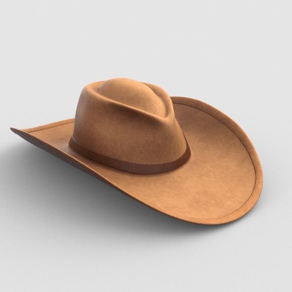 CowboyHat - 3DOcean Item for Sale