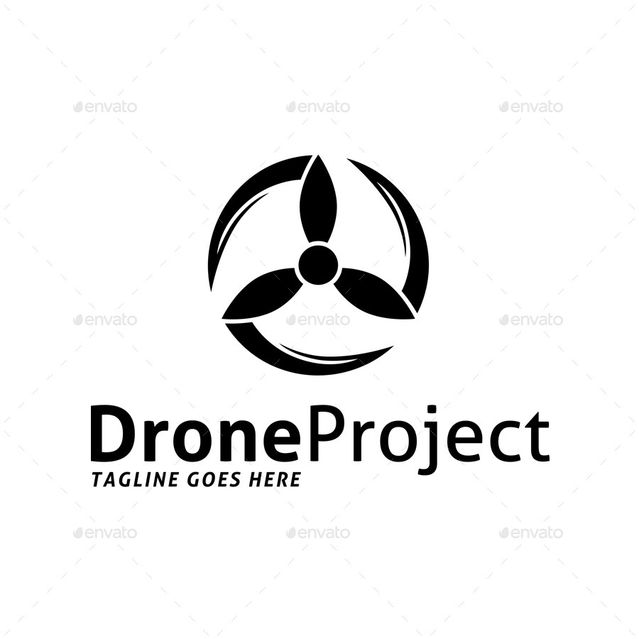 Drone Project Logo By SuperPencil