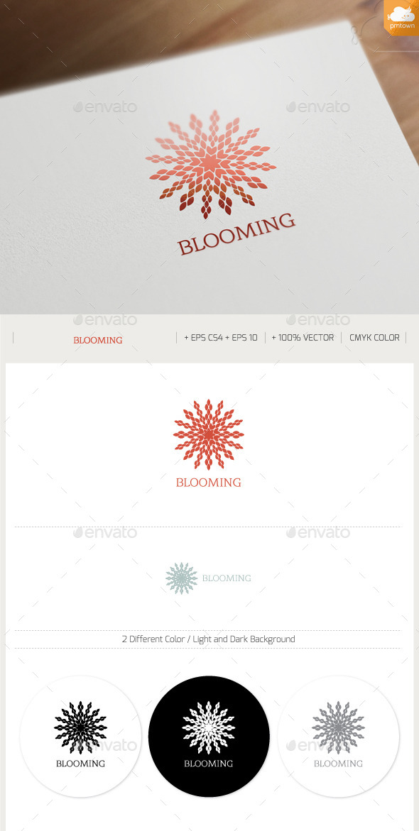 Blooming - Nature Logo Templates