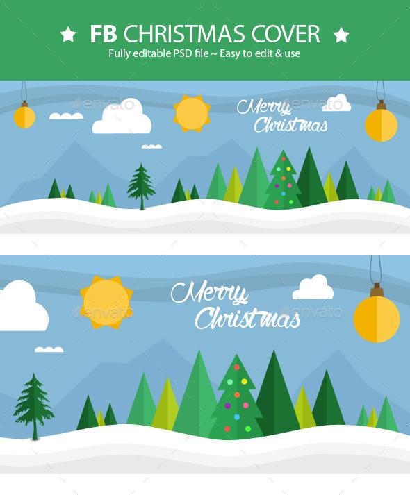 FB Christmas Cover V2 - Facebook Timeline Covers Social Media