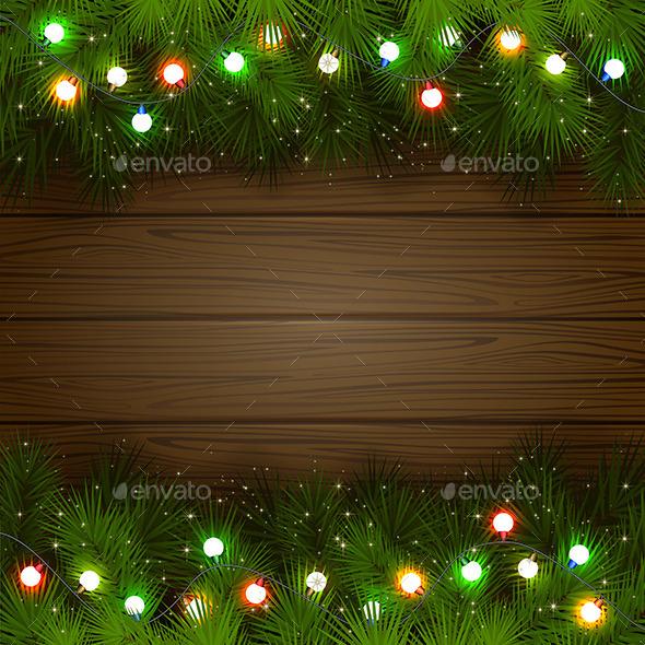 Multicolored Christmas Garland - Christmas Seasons/Holidays
