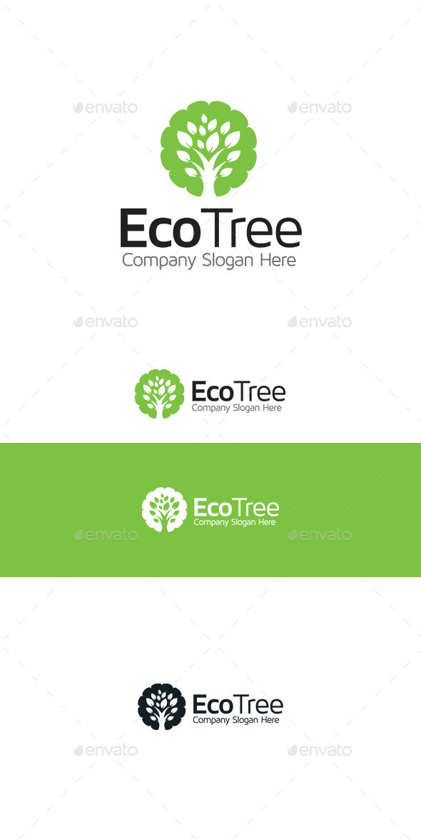 Eco Tree - Nature Logo Templates