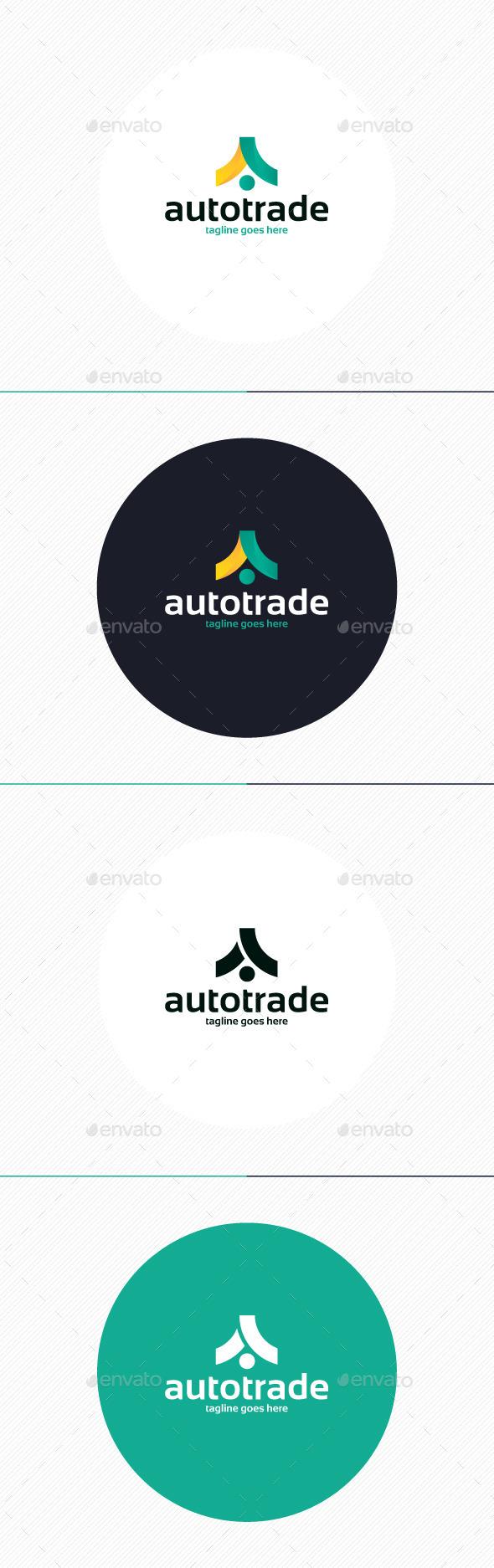 Auto Trade Logo Letter A - Letters Logo Templates