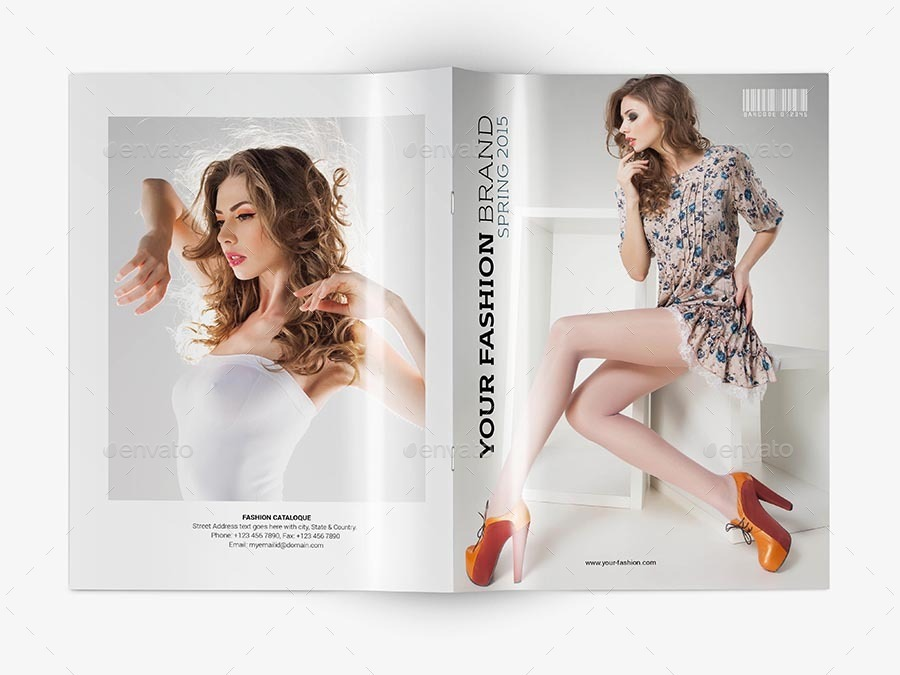 fashion catalogue template v 1 by sedhey