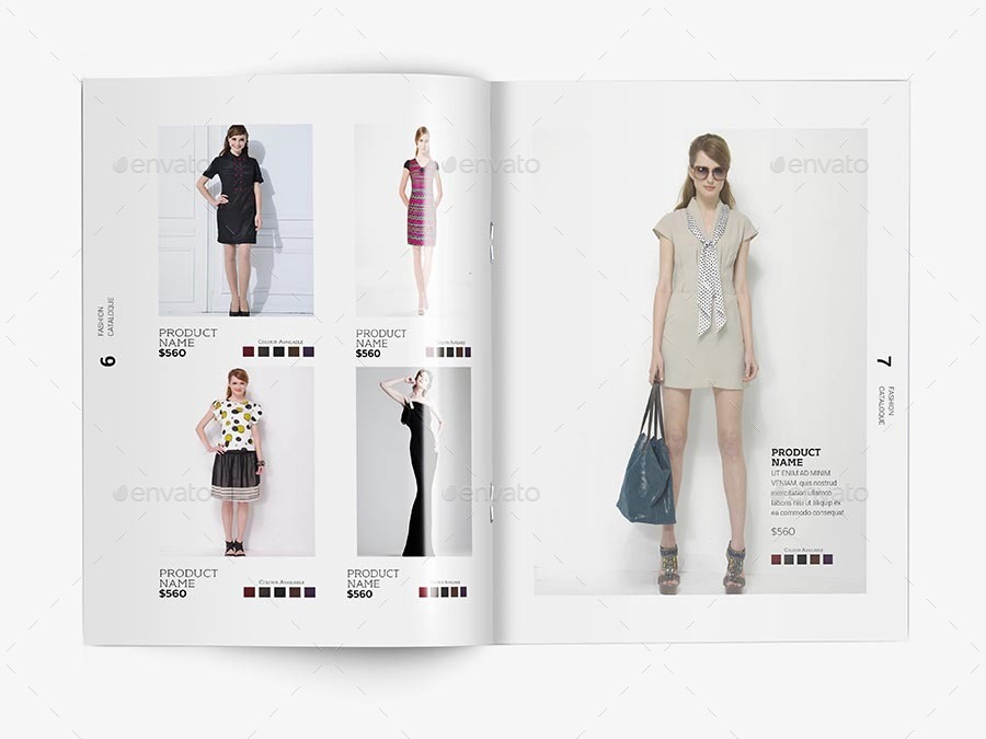 Fashion Catalogue Template V 1 By Sedhey Graphicriver