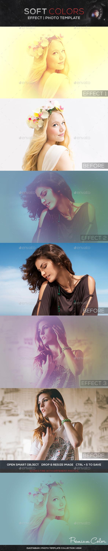 Soft Colors Photo Template  - Artistic Photo Templates