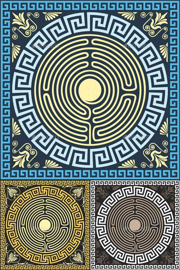 Greek Ornament - Patterns Decorative
