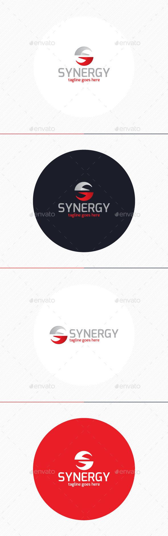 Synergy Logo Letter S - Letters Logo Templates