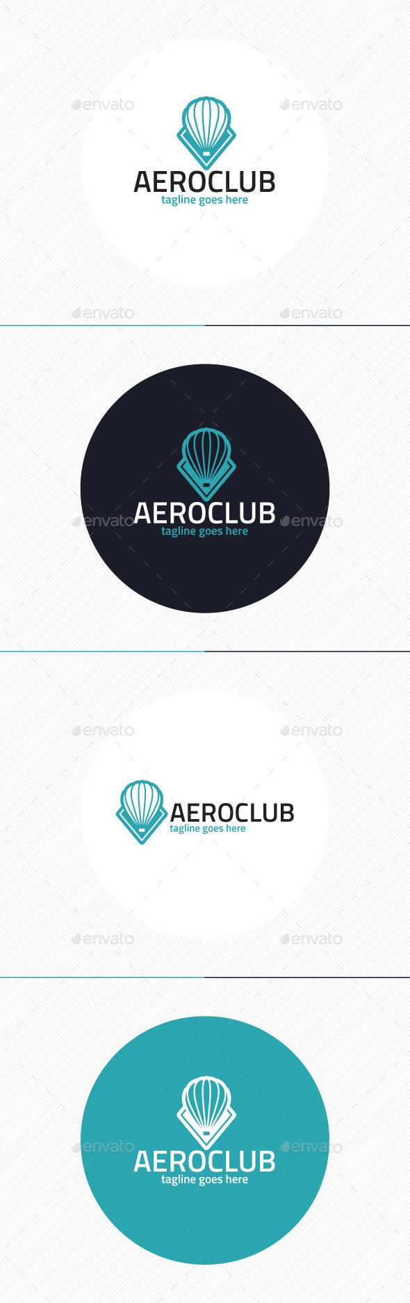 Aero Club Logo - Objects Logo Templates