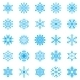 Snowflake Winter Set  - GraphicRiver Item for Sale
