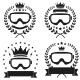 Set of Vintage Motor Club Badge and Label - GraphicRiver Item for Sale