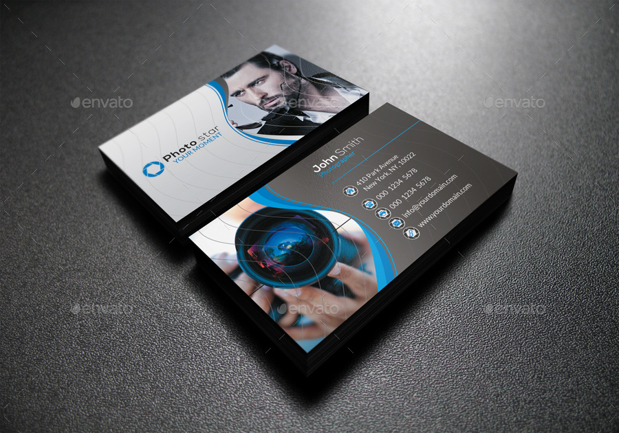 Photography Business Card by far_star60 | GraphicRiver
