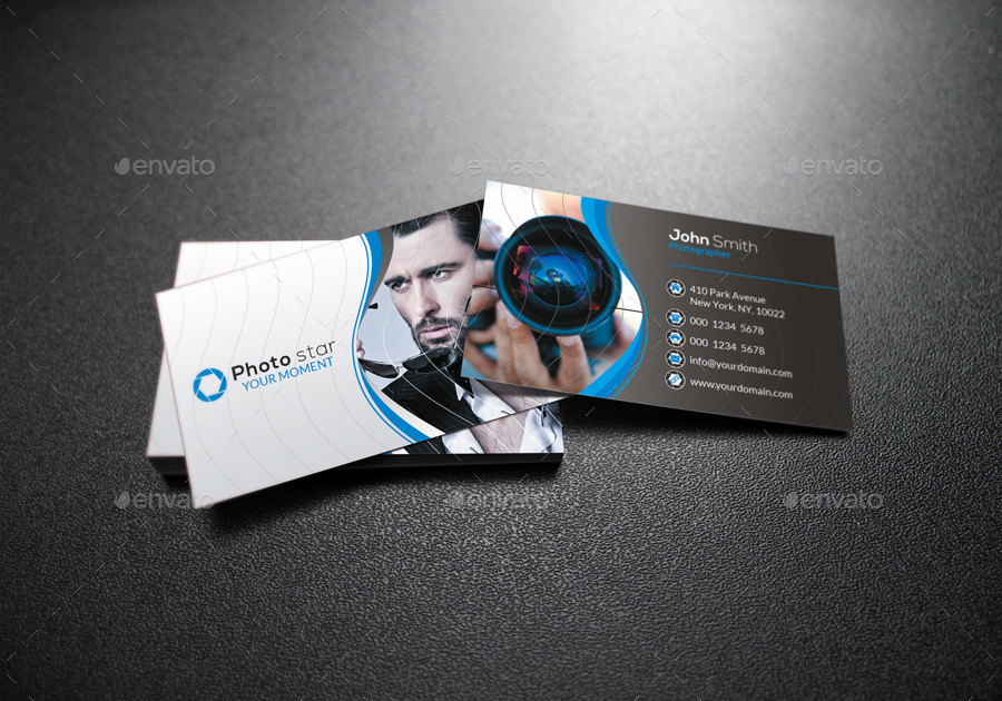 graphy Business Card by far star60