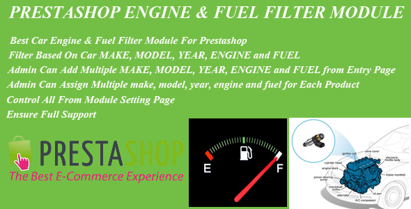 Prestashop Car Engine & Fuel Filter Module - CodeCanyon Item for Sale