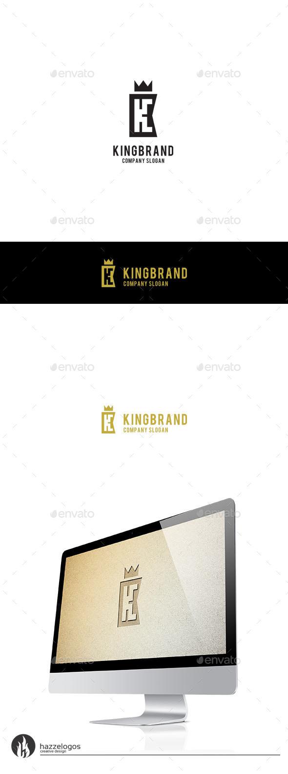 King Brand - Letter K Logo - Letters Logo Templates