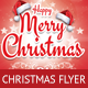 Happy Christmas Flyer Template - GraphicRiver Item for Sale