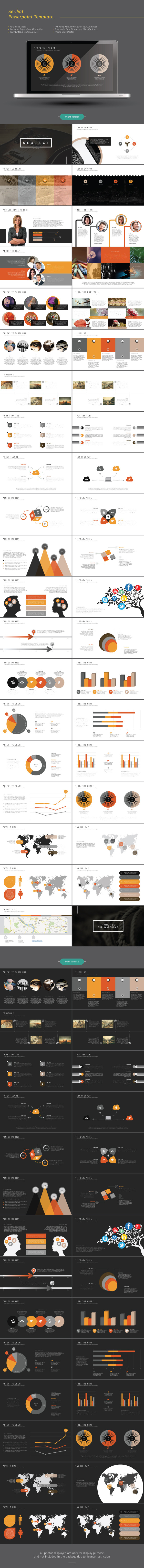 Serikat Powerpoint Template - Business PowerPoint Templates