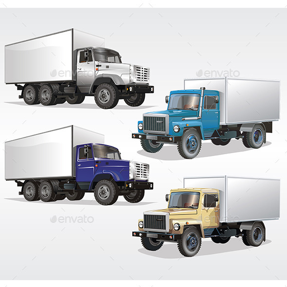 Trucks - Travel Conceptual