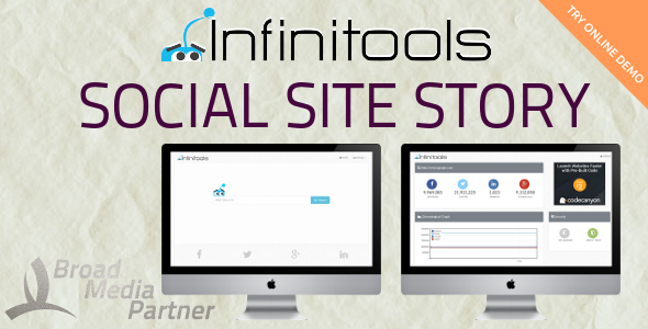Social Site Story - InfiniTools - CodeCanyon Item for Sale