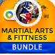 Martial Arts & Fitness Banner Bundle - 3 Sets