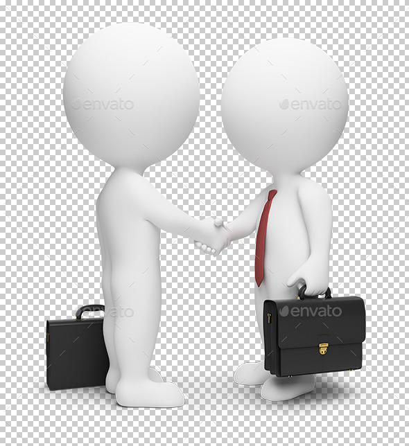 3D Small People - Businessmen - Characters 3D Renders