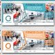 Fitness Club Facebook Timeline  - GraphicRiver Item for Sale