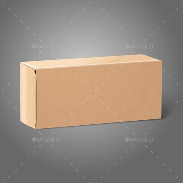 Package Box - Man-made Objects Objects