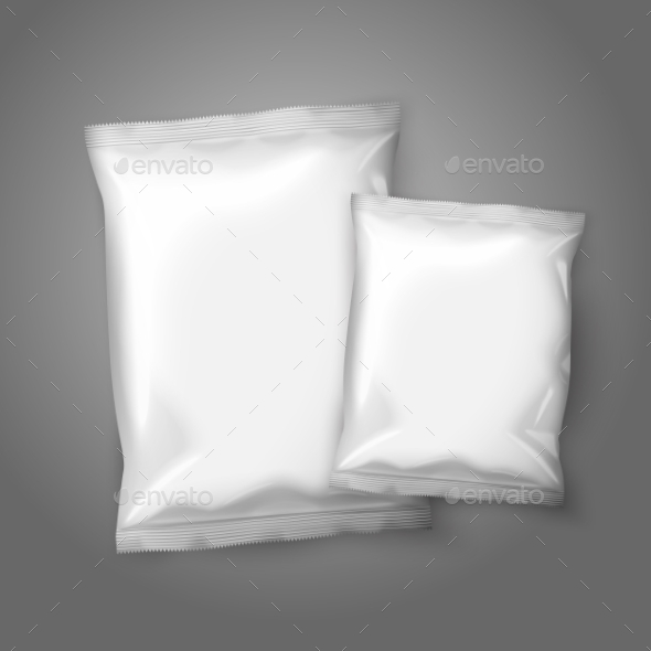 Two Bag Packages - Man-made Objects Objects