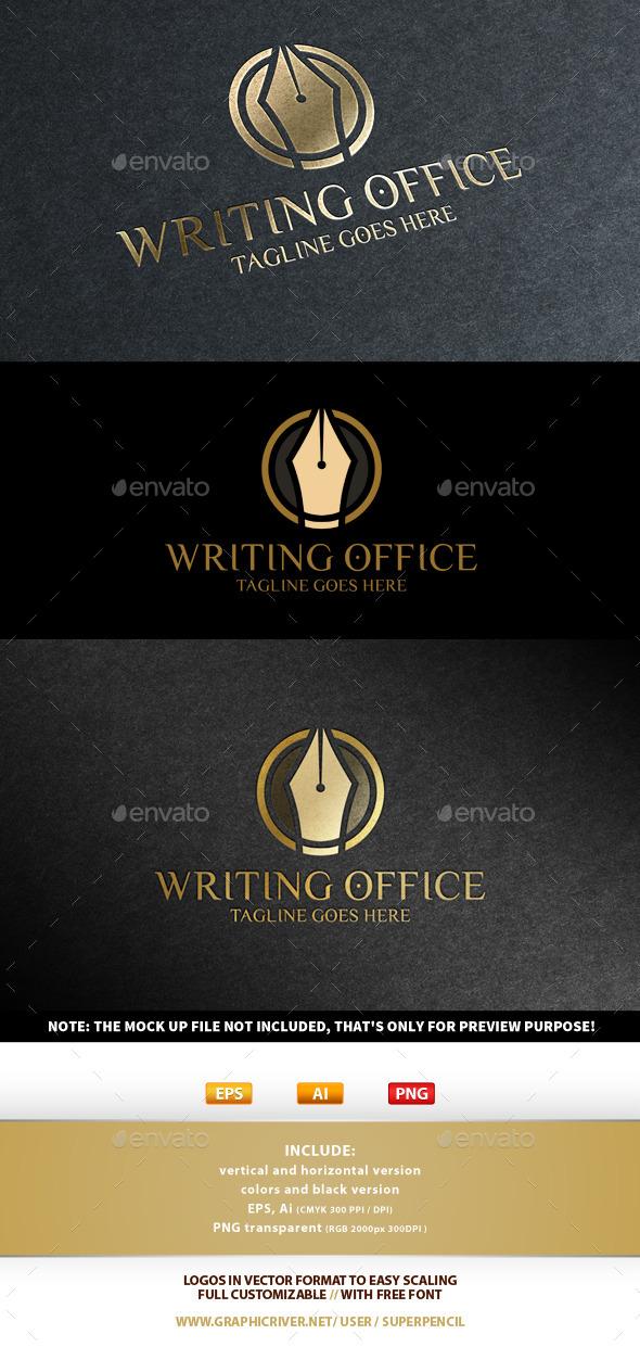 Writing Office Logo - Symbols Logo Templates